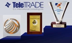 Награды TeleTrade, лучшая аналитика