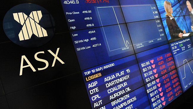 История австралийской биржи