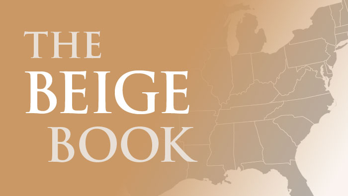 Fed's Beige Book - бежевая книга