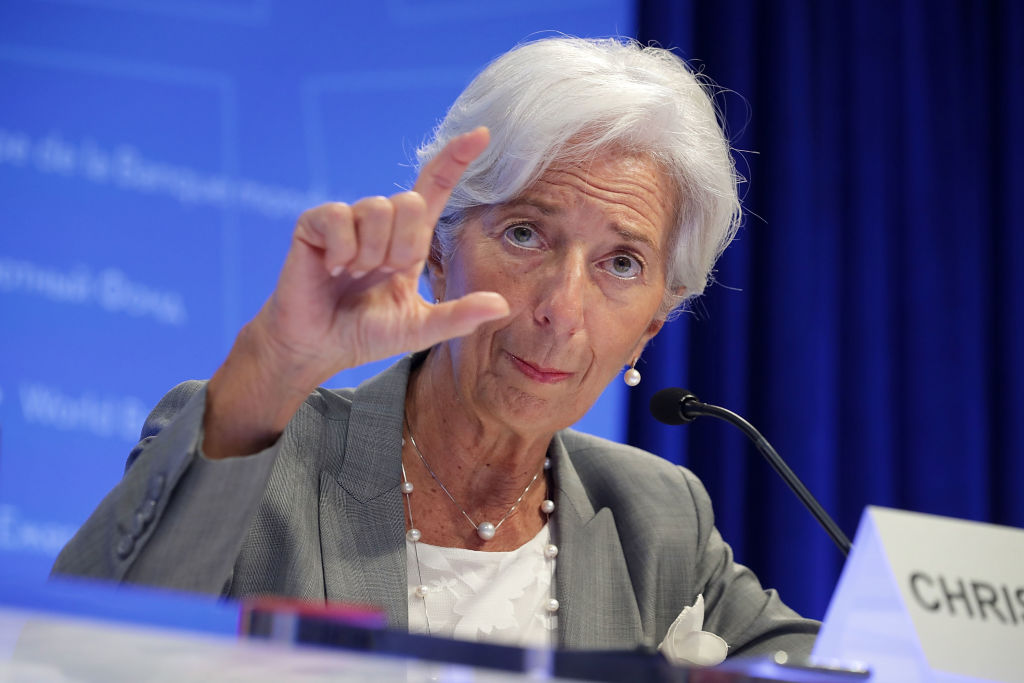 Кристин Лагард о неопределенности мировой экономики