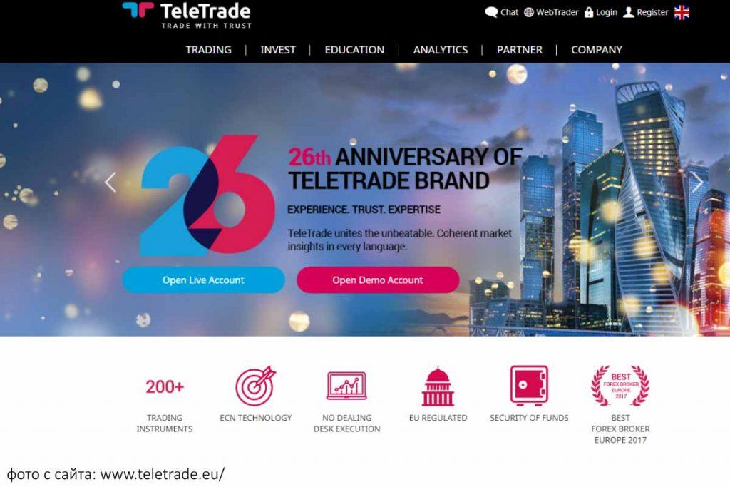 Телетрейд, вопрос доверия